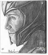 Loki Smirking Acrylic Print