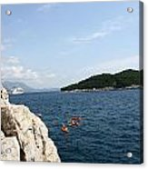 Lokrum From  Buza Acrylic Print