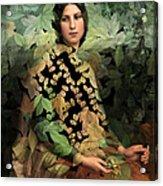 Lolita - Des Femmes Et Des Fleurs 0102 Acrylic Print