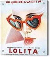 Lolita Poster Acrylic Print