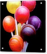 Lollipop Bouquet Acrylic Print