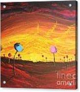 Lollipop Land Acrylic Print