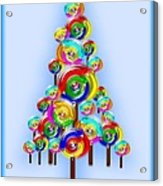 Lollipop Tree Acrylic Print