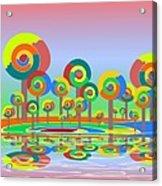 Lollypop Island Acrylic Print