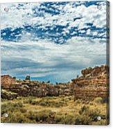 Lomaki Pueblo In Box Canyon Acrylic Print