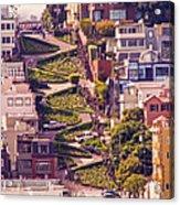 Lombard Street. Acrylic Print