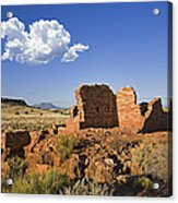 900 Year Old Lomaki Puebloan Ruins, Arizona Acrylic Print
