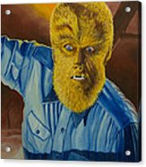 Lon Chaney Jr As Wolfman Acrylic Print