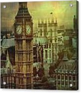 London - Big Ben Acrylic Print