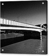 london bridge over the river thames central London England UK Acrylic Print