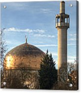 London Central Mosque Acrylic Print