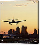 London City Airport Acrylic Print