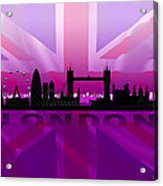 London City Acrylic Print