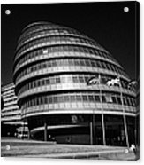 London City Hall England Uk Acrylic Print