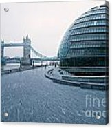 London City Hall Acrylic Print