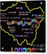 London Acrylic Print by Dan Hilsenrath