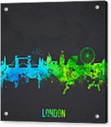 London England Acrylic Print by Aged Pixel