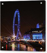 London At Night Acrylic Print