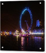 London Eye Art Acrylic Print