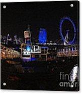 Downtown London Acrylic Print