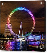 London Eye Pride Acrylic Print