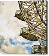 London Eye View Acrylic Print