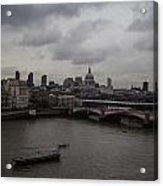 London Landscape Acrylic Print