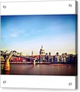 London Acrylic Print by Maeve O Connell