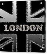 London Modern Union Jack Flag Acrylic Print