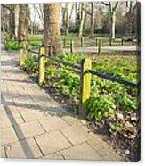 London Park Acrylic Print by Tom Gowanlock