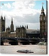 London Parliament Building Acrylic Print