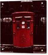 London Post Box Acrylic Print