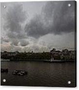 London River View Acrylic Print