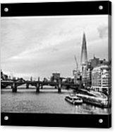 London Skyline Acrylic Print by Maeve O Connell