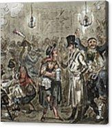 London: Slum, 1821 Acrylic Print
