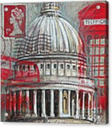 London St Paul's Dome Acrylic Print