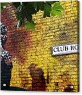 London Street Art I Acrylic Print by Ed Pettitt