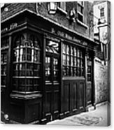 London: Tavern Acrylic Print