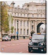 London Taxi Acrylic Print