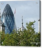 London Towers Acrylic Print by Ann Horn