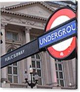 London Underground 1 Acrylic Print