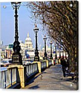 London View From South Bank Acrylic Print