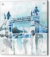 Londres- Tower Bridge Acrylic Print