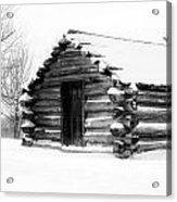 Lone Cabin Acrylic Print