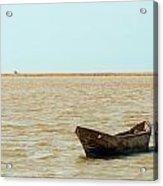 Lone Canoe Acrylic Print