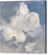 Lone Cloud Acrylic Print