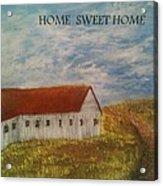 Lone Home Acrylic Print