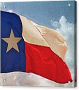 Lone Star Flag Acrylic Print