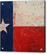 Lone Star Acrylic Print by Michael Creese