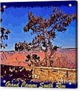 Lone Tree South Rim Poster Acrylic Print